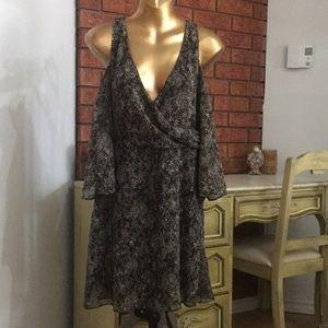 Zara Open-shoulder Dress